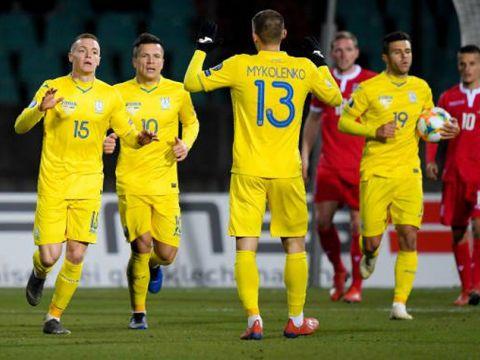 Люксембург - Украина 1:2 (видео)