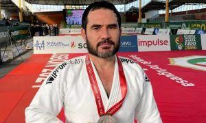 Bekzod Turaboev won a silver medal at the World Judo Championships among veterans