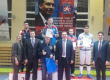 Uzbekistan's Sherzod Mamutov awarded a bronze medal in the International Fencing Tournament in Russia