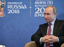 Владимир Путин: Футболчилар ва мухлислар Россияни ўз уйларидек ҳис қилишлари учун ҳамма нарсани қиламиз