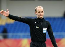 Jordanian referee Adham Makhadmeh to officiate FC Pakhtakor vs Persepolis FC match