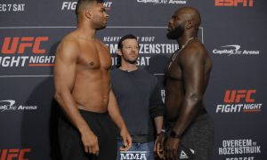 "UFC ""легенда""ларидан бири Оверим қай тарзда нокаутга учради... Томоша қилинг"
