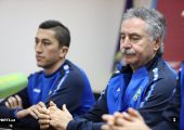 Uzbekistan training and press conferation