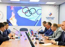 В Москве прошла официальная встреча руководителей олимпийских комитетов России и Узбекистана
