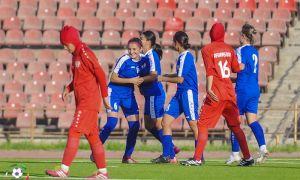 Победа в первом матче женской молодёжной сборной.
