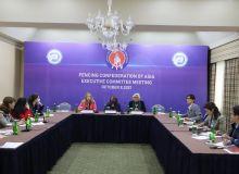 Состоялась пресс-конференция, посвященная Генеральной Ассамблее Азиатской конфедерации фехтования