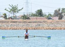 Uzbekistan Rowing Championship Stage 3 takes place on Tashkent Sea on October 1-4