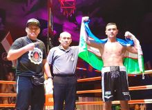 Улугбек Собиров праздновал очередную победу