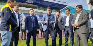 Равшан Эрматов Андижон футболи билан яқиндан танишди