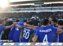 FC Nasaf earn a narrow 1-0 victory over FC Metallurg