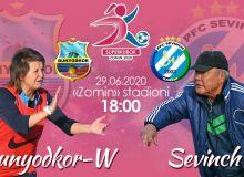 Сегодня большой день женского футбола!