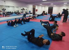 Uzbekistan WKF karate national team start training sessions in Tashkent