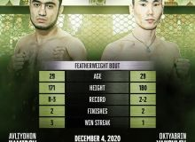 At the GFC 30 tournament, the Uzbek fighter will also return to to the octagon