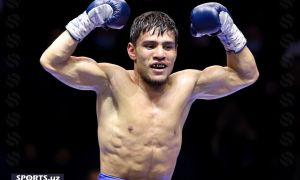 Murodjon Akhmadaliev was named the WBA Boxer of the Month (Photo)