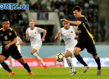FC Bunyodkor secure a 2-1 victory over FC AGMK in Almalyk