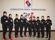 Женская команда Узбекистана по боксу отправилась в Казахстан