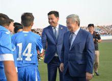 Умид Ахматджанов принял участие в церемонии открытия фестиваля спорта в Каракалпакстане