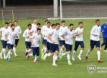 Национальная сборная Узбекистана провела очередную тренировку в Брисбене на стадионе «Perry Park» (Фотогалерея)