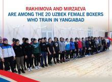 Rakhimova and Mirzaeva are among the 20 Uzbek female boxers who train in Yangiabad