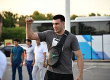 Наших боксеров встречали на узбекском языке в Японии (Видео)