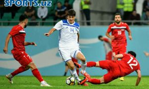 Match Highlights. Uzbekistan 1-1 Syria