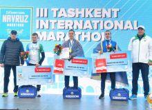 Известны победители III Ташкентского международного марафона