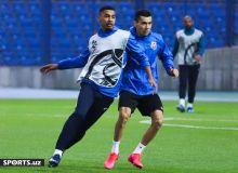 Команда Азиза Ганиева провела официальную тренировку перед матчем с «Пахтакором» (Фото)