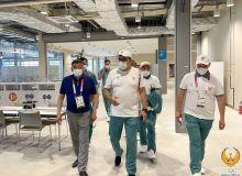 Азиз Абдухакимов ознакомился с созданными условиями для делегации Узбекистана в Олимпийской деревне