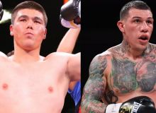 Melikuziev fires back Rosado's comment on knocking out by the 6th round