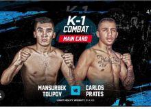 The Uzbek kickboxer will fight against Brazilian opponent in Dubai
