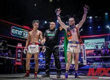 Mavlud Tifiev beats Cambodian Kim Bora at the MX Muay XTREME MMA Tournament