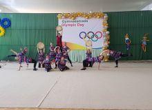 В Гулистане прошёл Республиканский фестиваль гимнастрады