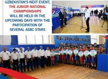 Uzbekistan's next event, the Junior National Championships will be held in the upcoming days with the participation of several ASBC stars