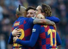 """Ла Лига. """"Барселона"""" йирик ҳисобда ғалаба қозонди, Мессидан покер"""