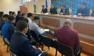 В АФУ прошло собрание, посвященное подготовке олимпийской сборной Узбекистана