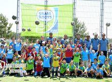 Сегодня в Ташкенте под эгидой АФУ прошёл детский фестиваль по футболу