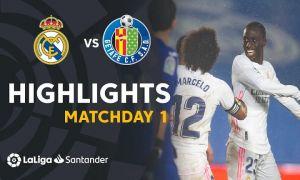 """""""Реал"""" Ла Лиганинг 1-турида ғалаба қозонди (видео)"""