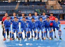 Сборная Узбекистана по футзалу завоевала третье место ЧА