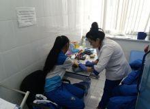 Женская олимпийская сборная Узбекистана прошла медицинский осмотр