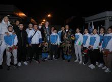 Участники чемпионата мира по дзюдо вернулись в столицу