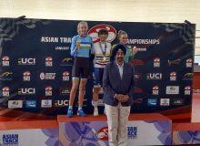 Велоспортсменка Узбекистана завоевала серебро ЧА, Забелинская будет бороться за золото