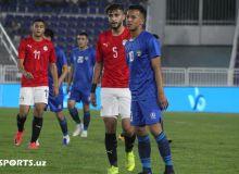 Лучшие моменты матча между олимпийскими сборными Узбекистана и Египта (Фото)