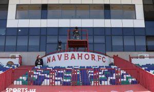 """""""Навбаҳор"""" стадионининг айни пайтдаги ҳолати қандай? (Фото)"""