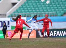 «CAFA Women's Championship 2018»: Кыргызстан с минимальным счётом обыграл Афганистан