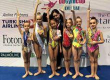Гимнастки Узбекистана завоевали медали различного достоинства в рамках международного турнира в ОАЭ