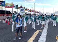 Делегация Узбекистана направилась на церемонию открытия Токио-2020