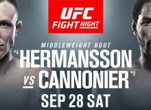 UFC Fight Night 160 жуфтликлари билан танишинг