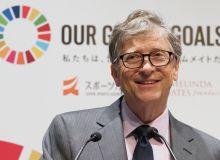 Bill Geyts Tokio-2020 tashkilotchilari bilan hamkorlik qiladi