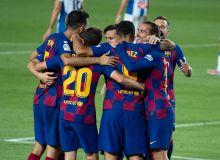 """Чемпионлик пойгаси давом этади: """"Барселона"""" ғалаба қозонди"""