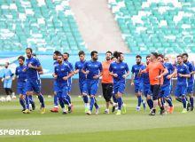 Сборная Сирии провела официальную тренировку, в составе нет Харбина и Аль Сома (Фото)